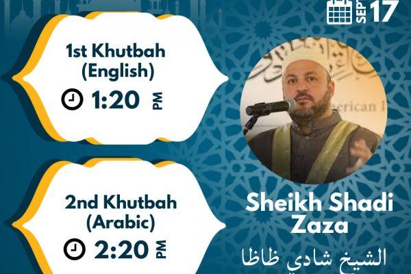 Friday Khutbah | Sep 17th, 2021